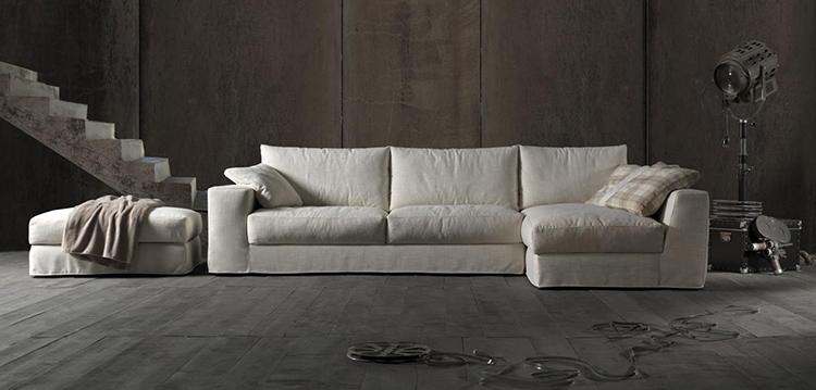 Vendita divani milano gallery of divano modello bridge for Tessuti arredamento monza